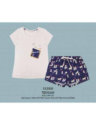 INDEFINI Пижама с шортами TBD9260
