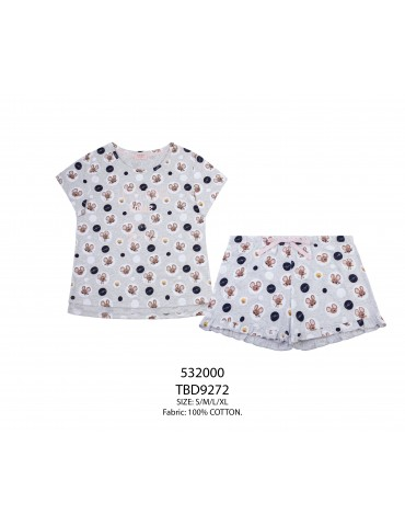 INDEFINI Пижама с шортами TBD9272