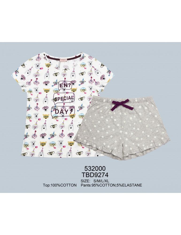 INDEFINI Пижама с шортами TBD9274