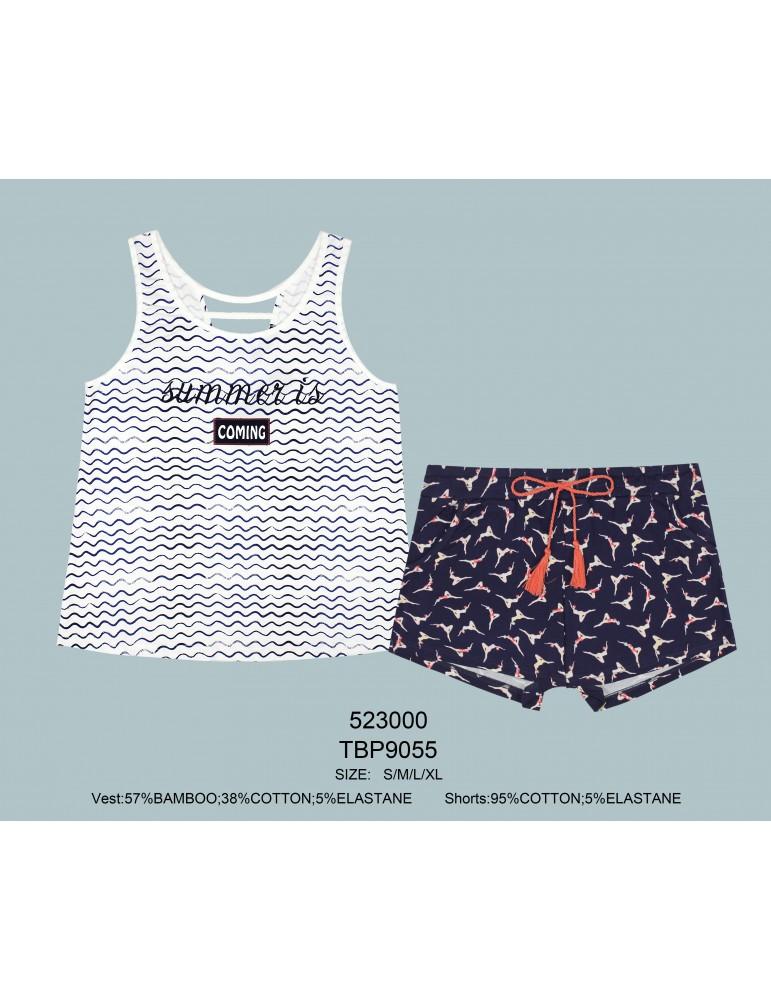 INDEFINI Пижама с шортами TBP9055