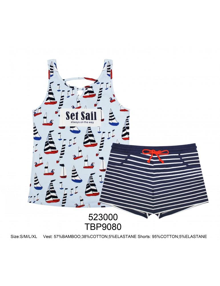 INDEFINI Пижама с шортами TBP9080