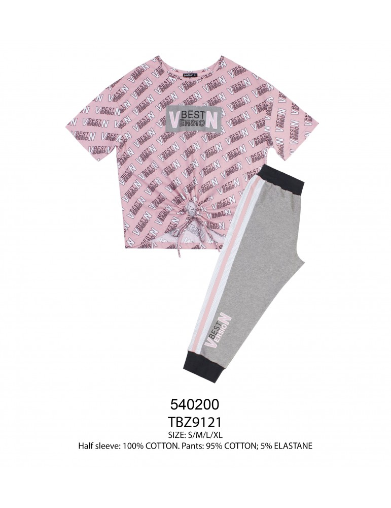 INDEFINI Пижама с бриджами TBZ9121