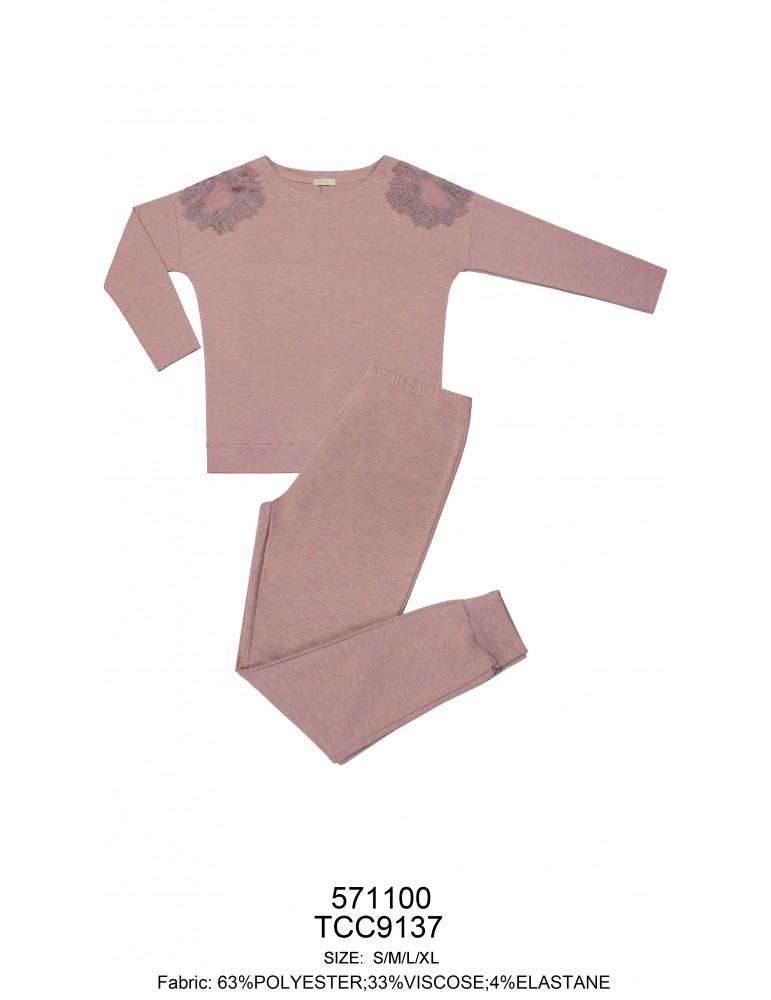 INDEFINI Пижама с брюками TCC9137