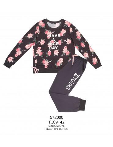 INDEFINI Пижама с брюками TCC9142