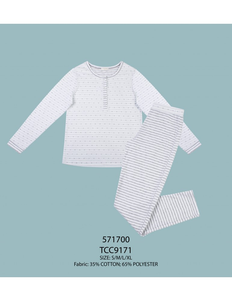 INDEFINI Пижама с брюками TCC9171