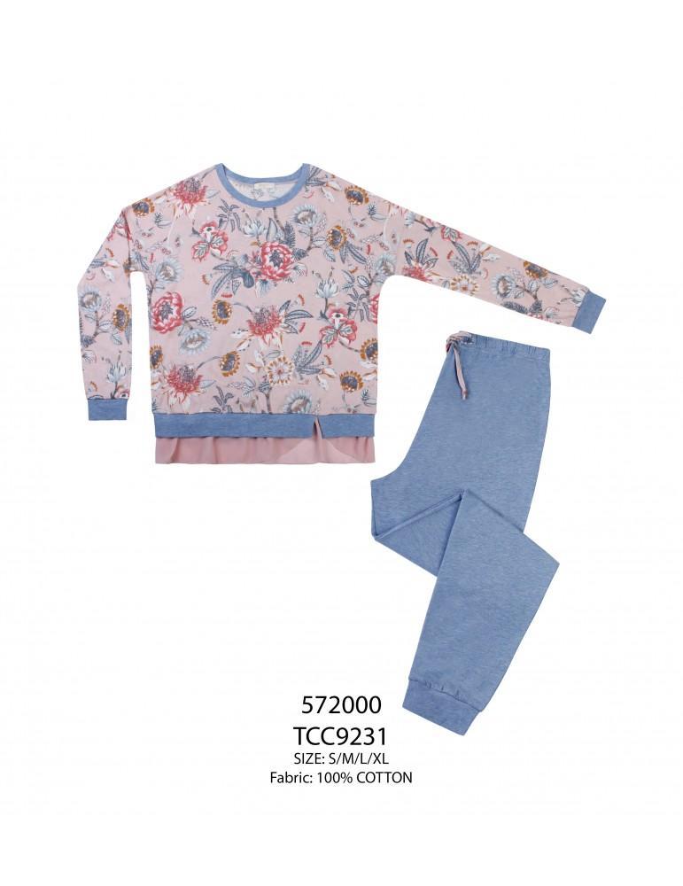 INDEFINI Пижама с брюками TCC9231