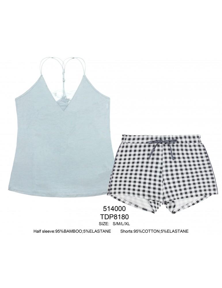 INDEFINI Пижама с шортами TDP8180