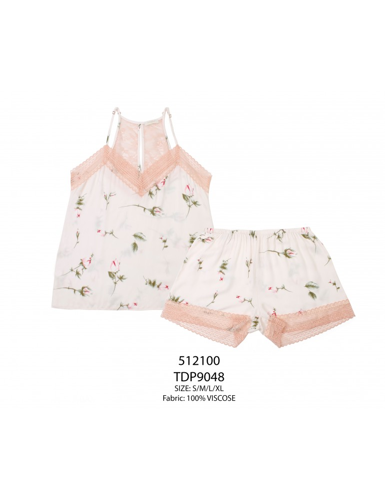 INDEFINI Пижама с шортами TDP9048