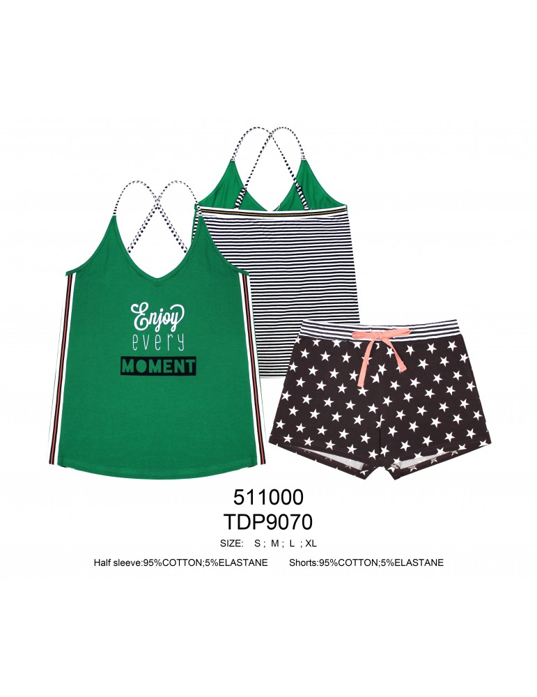 INDEFINI Пижама с шортами TDP9070