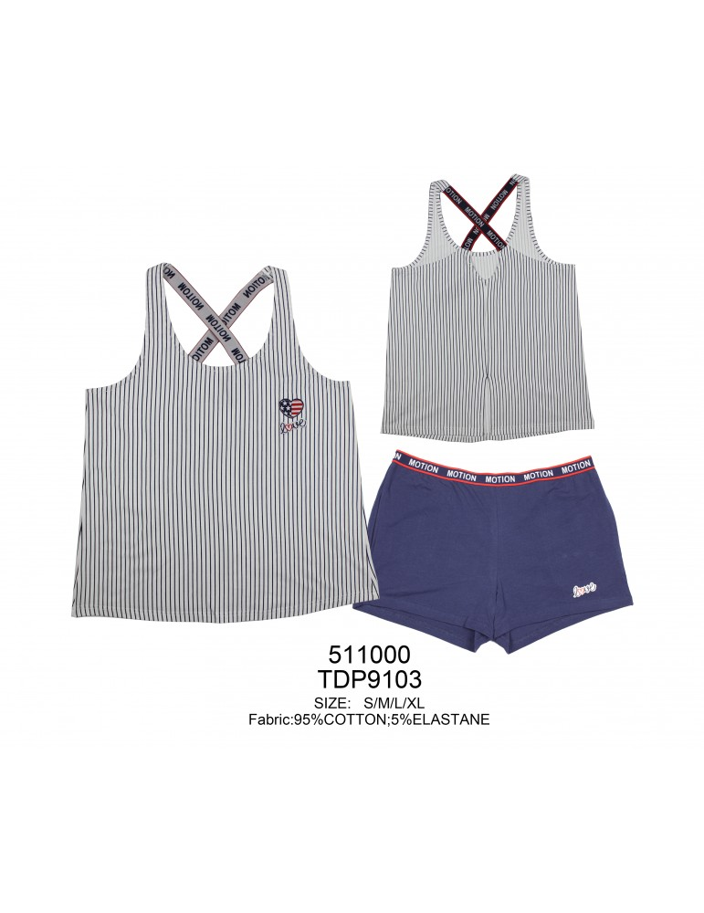 INDEFINI Пижама с шортами TDP9103