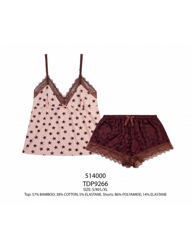 INDEFINI Пижама с шортами TDP9266