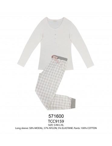INDEFINI Пижама с брюками TCC9159